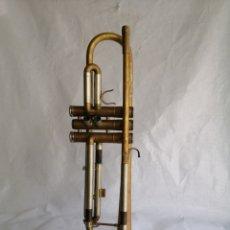 Instrumentos musicales: INSTRUMENTO MUSICAL TROMPETA CORNETA ANTIGUA ESTILO MARTIN HANDCRAFT IMPERIAL AÑOS 40. Lote 243859940