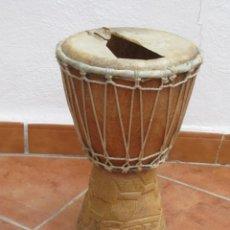 Instrumentos musicales: TIMBAL AFRICANO. VER DESCRIPCION.. Lote 244841480