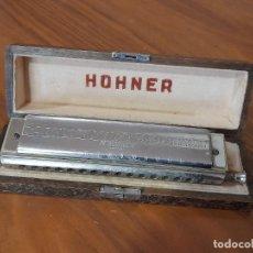 Instrumentos musicales: ANTIGUA ARMONICA HOHNER THE 45, PROFECIONAL MODEL EN SU CAJA ORIGINAL. Lote 244849255