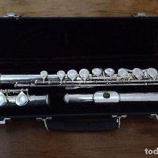 Instrumentos musicales: FLAUTA TRAVESERA.LLAVES.MALETIN.MUSICA.INSTRUMENTO.VIENTO. Lote 244922095
