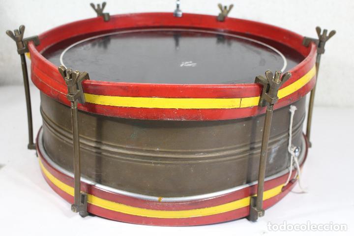 Instrumentos musicales: antiguo tambor remo made in u.s.a. - Foto 2 - 244957060