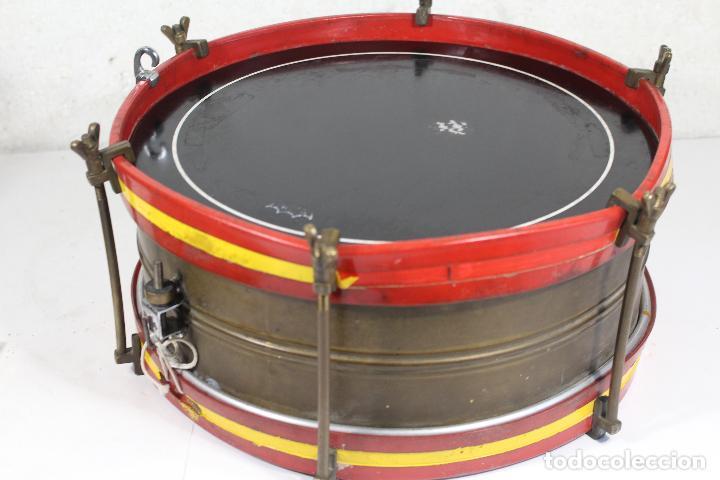 Instrumentos musicales: antiguo tambor remo made in u.s.a. - Foto 4 - 244957060