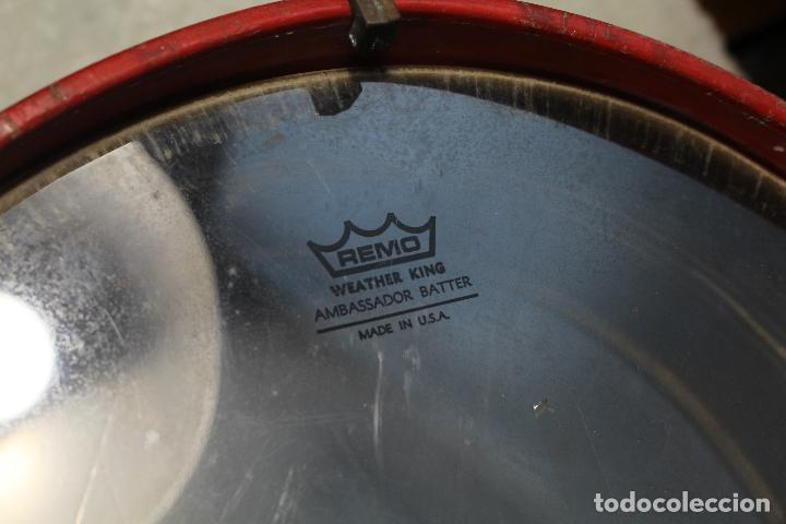 Instrumentos musicales: antiguo tambor remo made in u.s.a. - Foto 5 - 244957060