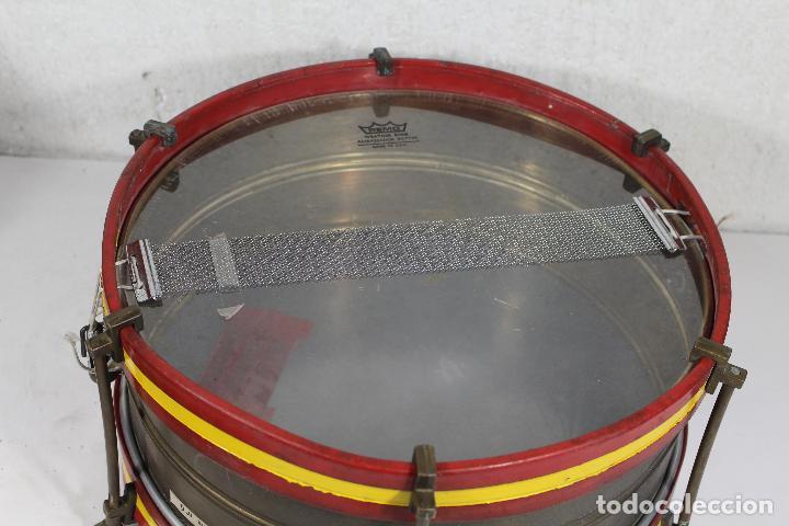 Instrumentos musicales: antiguo tambor remo made in u.s.a. - Foto 6 - 244957060