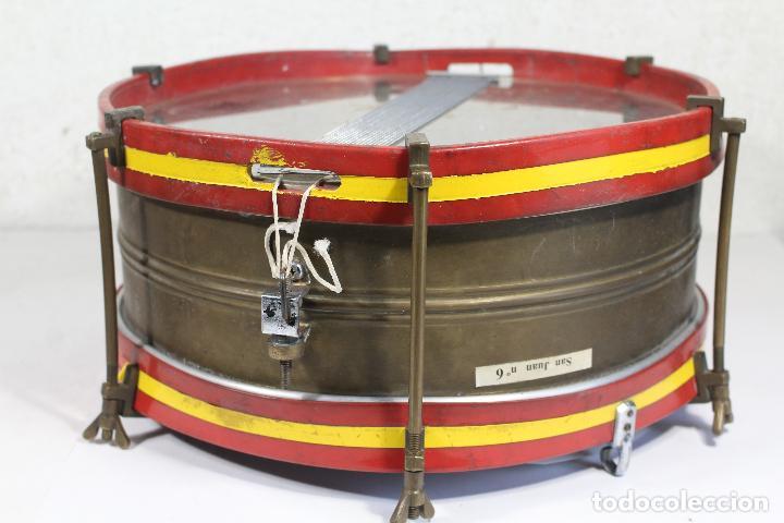 Instrumentos musicales: antiguo tambor remo made in u.s.a. - Foto 7 - 244957060