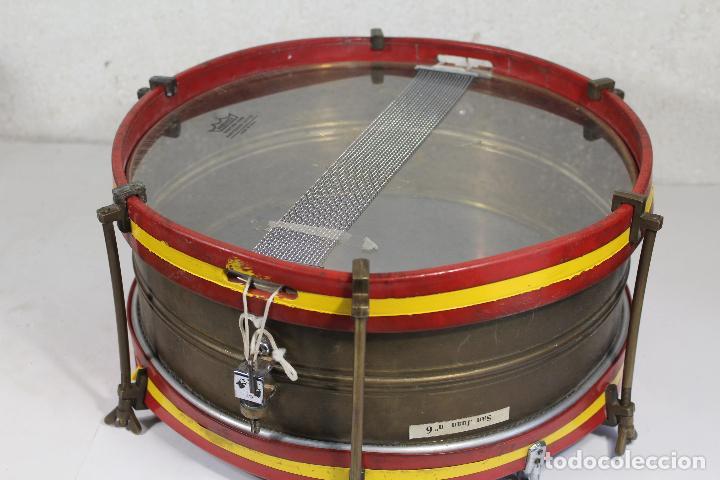 ANTIGUO TAMBOR REMO MADE IN U.S.A. (Música - Instrumentos Musicales - Percusión)