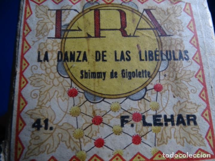 Instrumentos musicales: LA DANZA DE LAS LIBÉLULAS. GUIGOLETTE. F. LEHAR. 41. - Foto 3 - 245018490