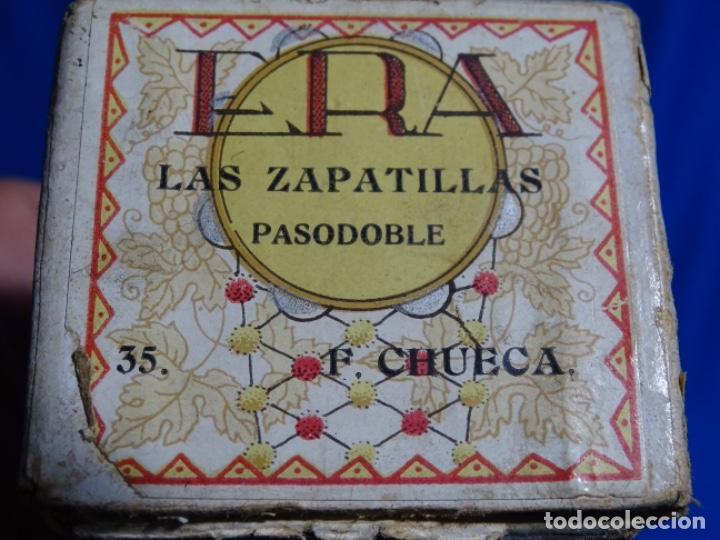 Instrumentos musicales: ROLLO DE PIANOLA. LAS ZAPATILLAS. PASODOBLE. F, CHUECA. 35 - Foto 3 - 245023085