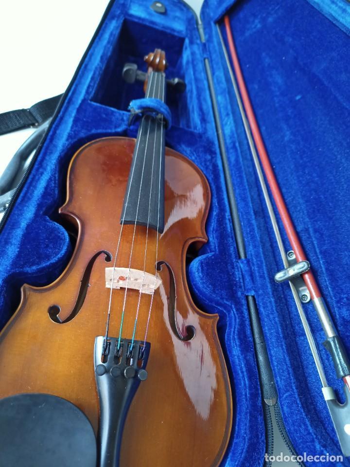 VIOLÍN 1/2 HANS JOSEPH HAUER (Música - Instrumentos Musicales - Cuerda Antiguos)