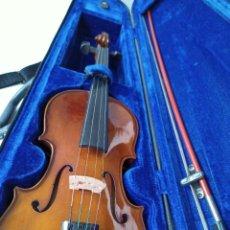 Instrumentos musicales: VIOLÍN 1/2 HANS JOSEPH HAUER. Lote 245106000
