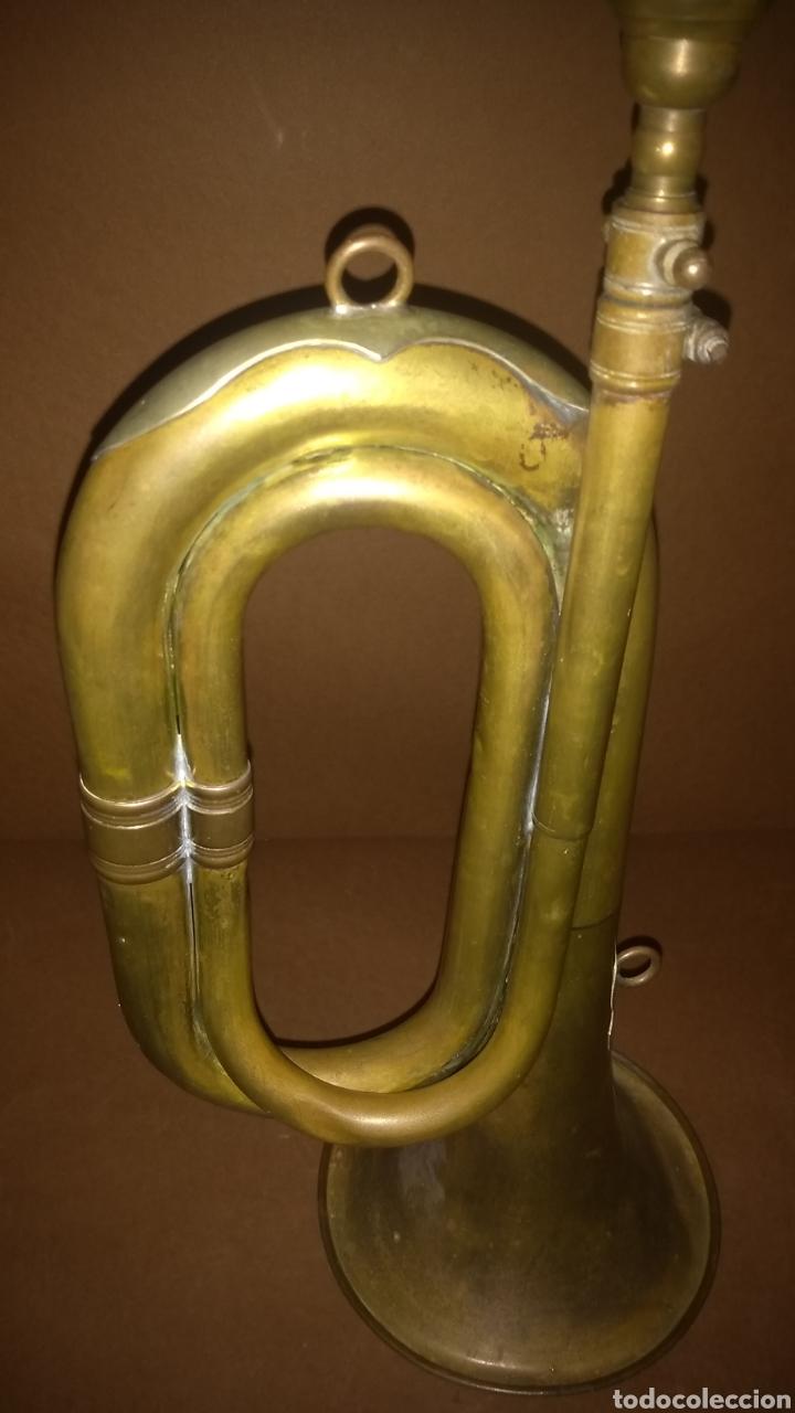 Instrumentos musicales: Corneta Honsuy antigua - Foto 2 - 245360330