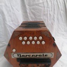 Instrumentos musicales: ANTIGUA CONCERTINA BARCAROLE ALEMANIA DEMOCRATICA. Lote 245452470