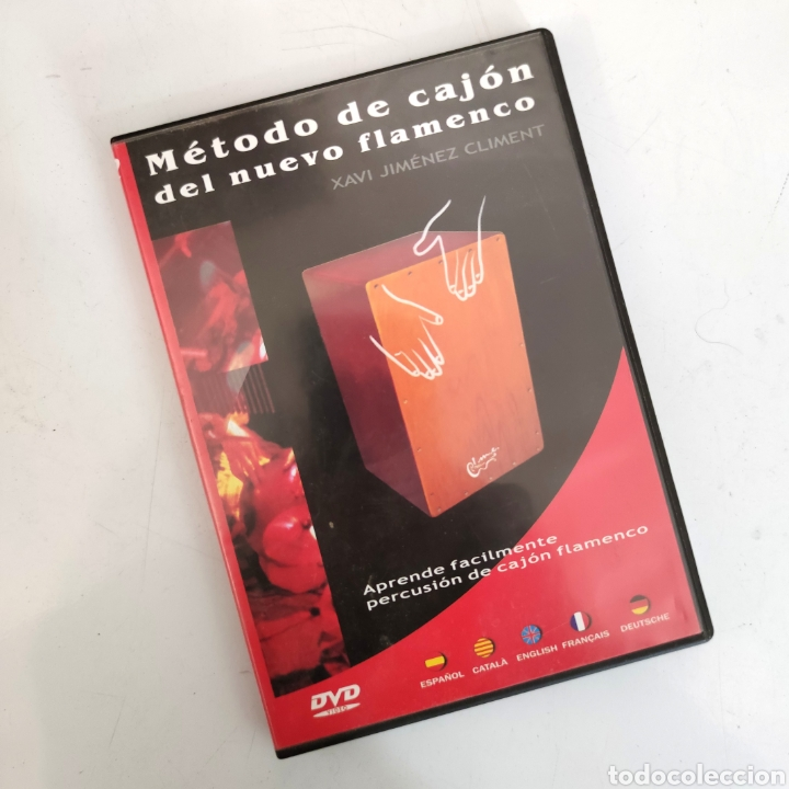 Instrumentos musicales: Cajón flamenco IMESA + DVD Método de cajón del nuevo flamenco - Xavi Jiménez Climent - Foto 11 - 245505300