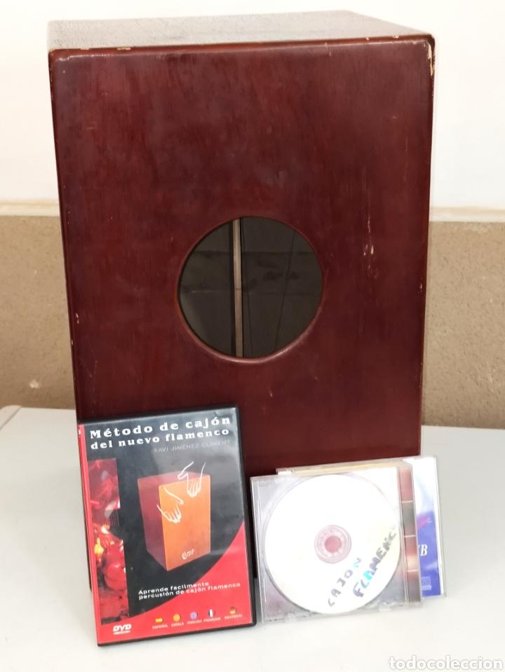 CAJÓN FLAMENCO IMESA + DVD MÉTODO DE CAJÓN DEL NUEVO FLAMENCO - XAVI JIMÉNEZ CLIMENT (Música - Instrumentos Musicales - Percusión)