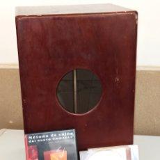 Instrumentos musicales: CAJÓN FLAMENCO IMESA + DVD MÉTODO DE CAJÓN DEL NUEVO FLAMENCO - XAVI JIMÉNEZ CLIMENT. Lote 245505300