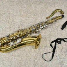 Instrumentos musicales: SAXOFÓN CON FUNDA ORIGINAL. Lote 245507040