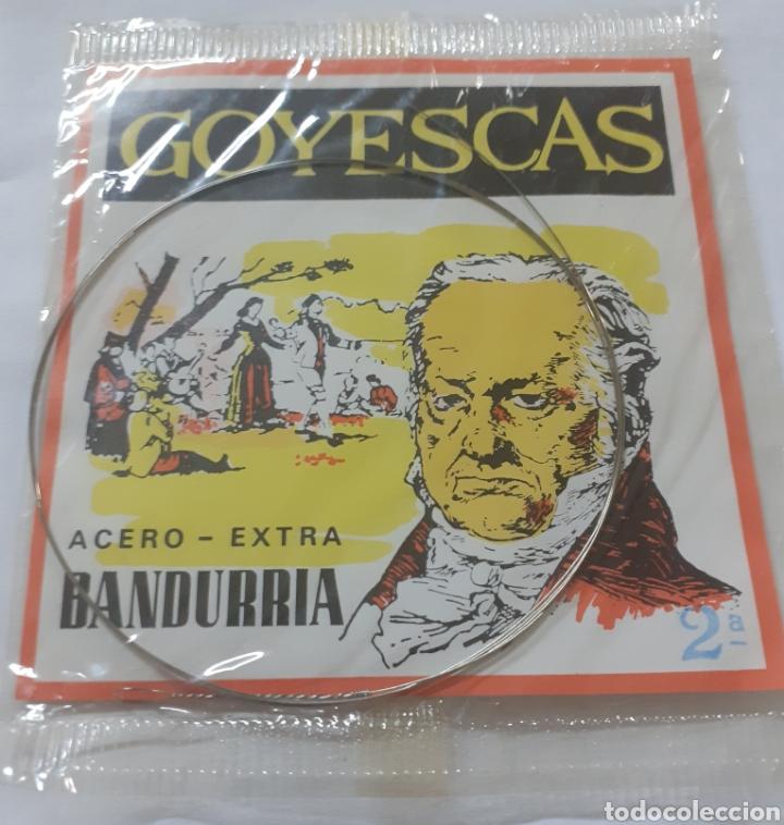 CUERDA DE BANDURRIA ACERO-EXTRA (Música - Instrumentos Musicales - Cuerda Antiguos)