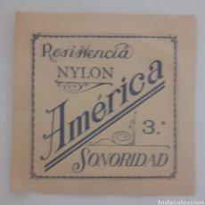 Instrumentos musicales: CUERDA DE GUITARRA AMERICANA NYLON 3. Lote 246257420
