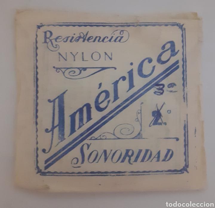 CUERDA DE GUITARRA AMERICANA NYLON (Música - Instrumentos Musicales - Cuerda Antiguos)
