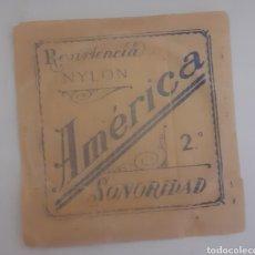 Instrumentos musicales: CUERDA DE GUITARRA AMERICANA NYLON 2. Lote 246258660