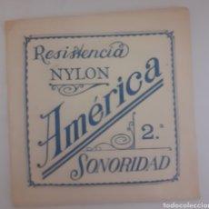 Instrumentos musicales: CUERDA DE GUITARRA AMERICANA NYLON 2. Lote 246259010