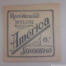 Instrumentos musicales: CUERDA DE GUITARRA AMERICANA NYLON 6. Lote 246259405