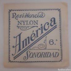 Instrumentos musicales: CUERDA DE GUITARRA AMERICANA NYLON. Lote 246259690