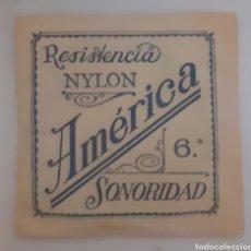 Instrumentos musicales: CUERDA DE GUITARRA AMERICANA NYLON 6. Lote 246260085