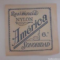Instrumentos musicales: CUERDA DE GUITARRA AMERICANA NYLON 6. Lote 246260565