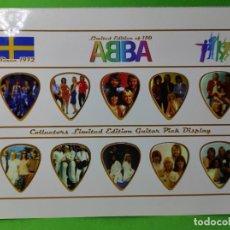 Instrumentos musicales: ABBA. COLECCION 10 PUAS DE GUITARRA. Lote 246331950
