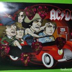 Instrumentos musicales: AC/DC. COLECCIÓN DE 7 PÚAS DE GUITARRA.. Lote 246337675