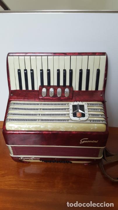 ACORDEÓN GUERRINI SUPERLUXE (Música - Instrumentos Musicales - Viento Madera)