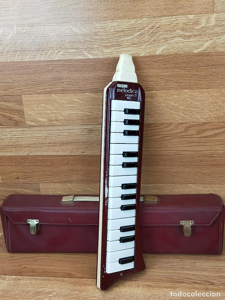 MELODICA PIANO 27 ARMONICA HOHNER - FUNCIONANDO (Música - Instrumentos Musicales - Viento Madera)