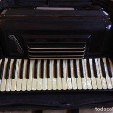 Instrumentos musicales: ACORDEON ANTIGUO ITALIANO CRUCIANELLI PANCORDION INC.. Lote 248020315