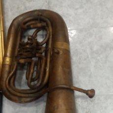 Instrumentos musicales: TUBA ANTIGUA ALEMANA ERLBACH.E.BRUNO STAR.. Lote 248179525