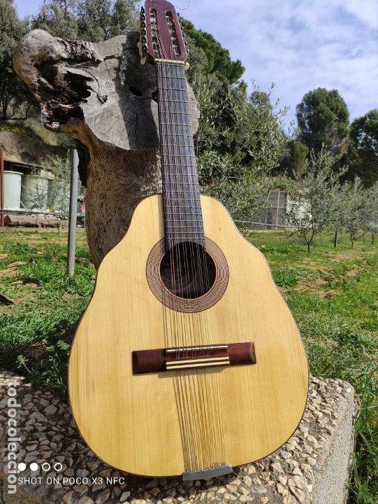 LAUD DE LUTHIER ANTIGUO JUAN ESTRUCH BARCELONA AÑOS 70 (Música - Instrumentos Musicales - Guitarras Antiguas)