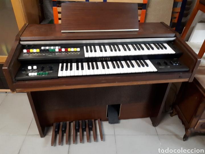 ANTIGUO ÓRGANO YAMAHA B-20 BR (Música - Instrumentos Musicales - Teclados Eléctricos y Digitales)