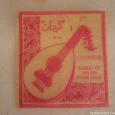 Instrumentos musicales: LEONINA CORDEL EN NYLON GUITARRA. Lote 249036220