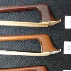 Instrumentos musicales: 5 ARCOS VIOLIN. NUEVOS (IMPORTANTE VER DESCRIPCIÓN) (VALOR DEL LOTE 3260 EUROS). Lote 249443380