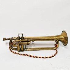 Instrumentos musicales: CORNETA TROMPETA JOSEPH MOLLERON RESPAUD. LYON. CIRCA 1890. INSTRUMENTO ANTIGUO.. Lote 249464380