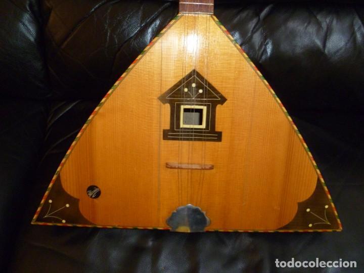 ANTIGUA BALALAIKA DE 6 CUERDAS (Música - Instrumentos Musicales - Guitarras Antiguas)