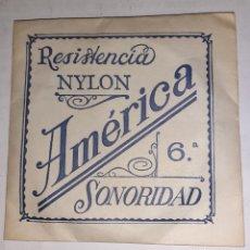 Instrumentos musicales: NYLON AMÉRICA GUITARRA 6. Lote 249596525