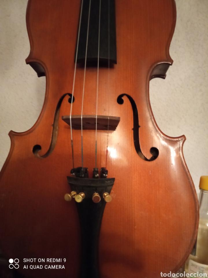 Instrumentos musicales: Violin antiguo frances H CLOTELLE - Foto 2 - 251217055