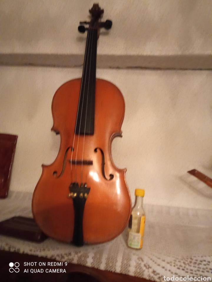 VIOLIN ANTIGUO FRANCES H CLOTELLE (Música - Instrumentos Musicales - Cuerda Antiguos)