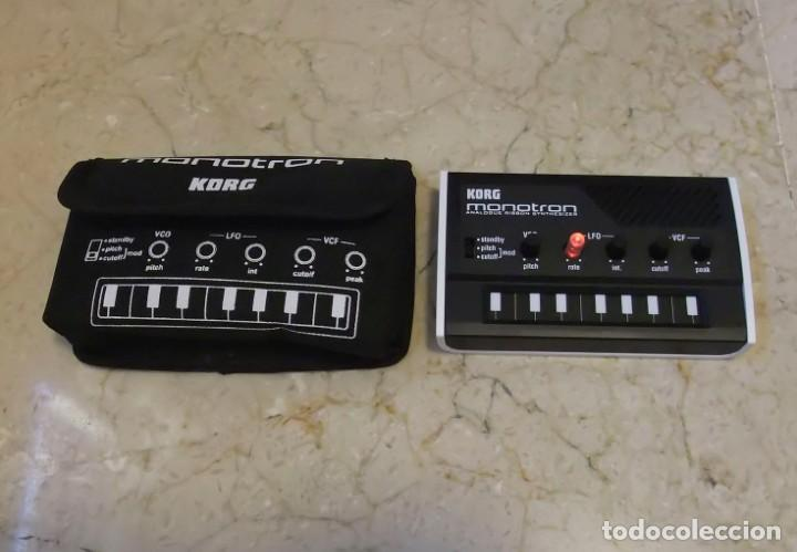 MINI SINTETIZADOR KORG MONOTRON (Música - Instrumentos Musicales - Teclados Eléctricos y Digitales)