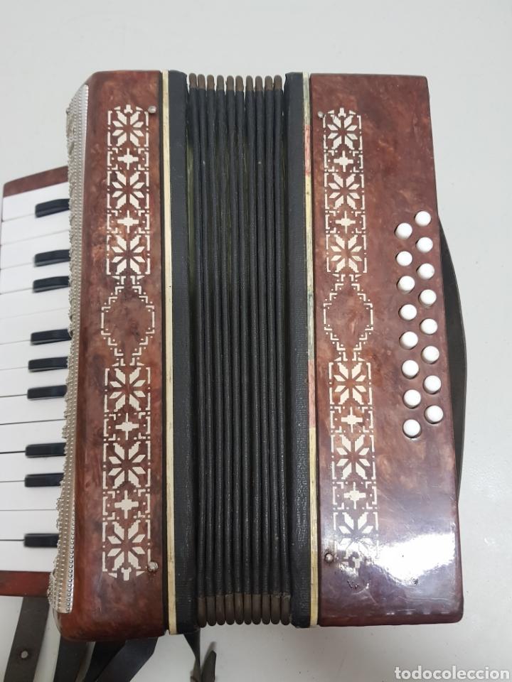 Instrumentos musicales: Acordeón Manbiw ,Razho ,made in URSS - Foto 7 - 251567265