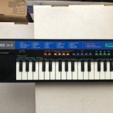 Instrumentos Musicais: ORGANO PIANO CASIO SA-8 PULSE CODE MODULATION 25 SOUND TONE BANK KREATEN. Lote 252212735