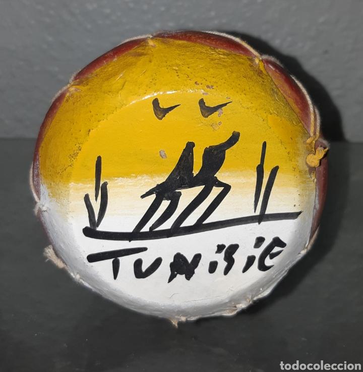Instrumentos musicales: OTROS GOYO - TAMBOR ÉTNICO - TUNEZ - ARCILLA Y PIEL - AA99 - Foto 2 - 252229815