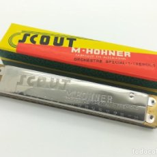 Instrumentos musicales: ARMÓNICA M. HOHNER C - SCOUT ORCHESTRE SPECIAL 1 TREMOLO - MADE IN GERMANY. Lote 252370460