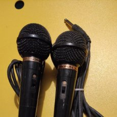 Instrumentos musicales: MÚSICA - 2 MICROFONOS - MARCA BOMAN - APENAS USADOS.. Lote 252385540